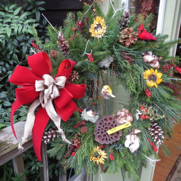 Evergreen Wreath Class in South Jersey